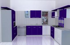 U-shaped Modular Kitchen by SHRI JASNATH JI