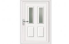 White UPVC Kitchen Door