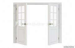 White Oval Skin Door   by Yuvi Enterprises