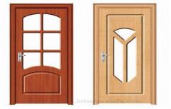 Wooden laminated pvc doors by Sri Teja Sai PVC Doors