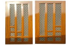 Wooden Safety Door by Shree Ganesh Steel & Wooden Furniture