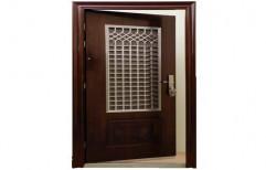 Wooden Safety Door by Vijay Kumar Walimbe & Associates