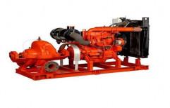 Kriloskar Cast Iron Fire Fighting Pump Set