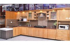 Plywood Modular Kitchen by E Spectrum Interiors