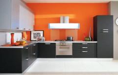 Stylish Modular Kitchen by Maharana Plywoods