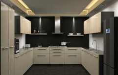 U Shape Modular Kitchen by B Furn