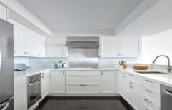 U Shape Modular Kitchen by Pamban Interiors