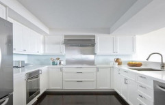 U Shaped Modular Kitchen by National Interior & Furniture