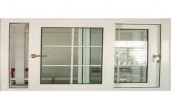 UPVC Sliding Windows With Mosquito Net