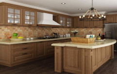 Wooden Modular Kitchen by Classic Interiors