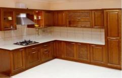 Wooden Modular Kitchen by JK Wood Modular