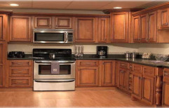 Wooden Modular Kitchen by Kairali Trading Company