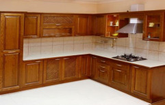 Wooden Modular Kitchen by Kenn Wood Decors