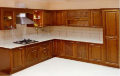 Wooden Modular Kitchen by Vishnupriya Enterprises