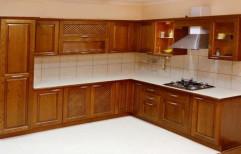 Wooden Modular Kitchen by VR Associates