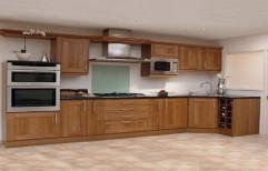 Wooden Modular Kitchen Door by