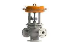 3/2 Way Pneumatic Cylinder Operated Control Valve by Hindustan Hydraulics & Pneumatics