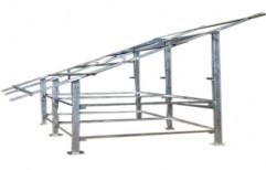Aluminium Solar Panel Mounting Structure by Nextgen Solar
