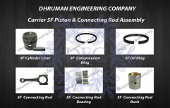Carrier 5F Piston and Connecting Rod Assembly by Dhruman Engineering Company