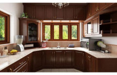 Customized Modular Kitchen by Koushika Interiors