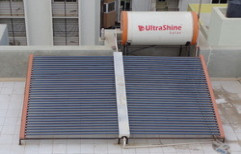 Evacuated Tube Collector Solar Water Heater by Ultrashine Solar Industries