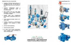 Industrial Pumps (mettallic & Non Metallic) & Equipments by Chemitek Equipments