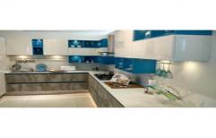 L Shaped Modular Kitchen by Vertex Business House( Unit VBH Ventures)