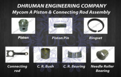Mycom A Piston and Connecting Rod Assembly by Dhruman Engineering Company
