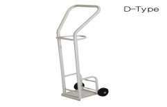Oxygen Cylinder Trolley Push Type by Rizen Healthcare