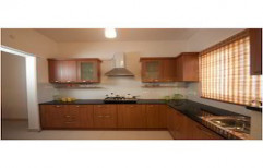 Semi Modular Kitchen by Touchwood Interior