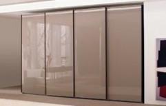 Sliding Door Glass Wardrobe by S. Mohan Agency
