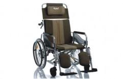 Wheel Chair Folding Reclining Sleeping Position RHAH-008 by Rizen Healthcare