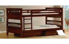 Wooden Bunker Bed by Akshaya Wood Interiors
