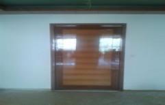 Wooden Main Door by Sharma Aluminum & Furniture