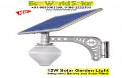 12W Solar Garden Light by Eco World Solar