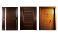 Flush Door by Kitchen Kraft