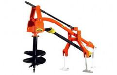 Hydraulic Post Hole Digger by Shivam Agro Sales