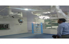 ICU Ceiling Pendant by MediFlow Systems