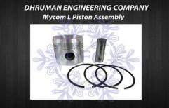 Mycom L Piston Assembly - Piston Pin Ringset by Dhruman Engineering Company