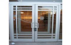 Aluminium Entrance Door by Kuchchal International