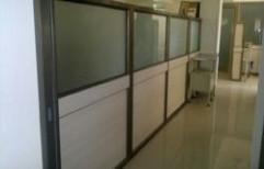 Aluminum Workstation Partition by Sharma Aluminum & Furniture
