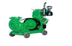 Diesel Engine Water Pump Set by Rudra Power
