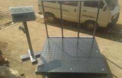 Heavy Duty Platform Scale by Al Noor Electronics