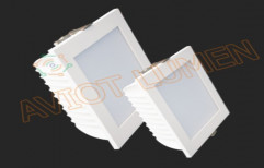 LED Down Light Square 12 Watts by Aviot Smart Automation Private Limited