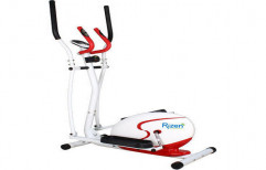 Magnetic Elliptical Bike Red by Rizen Healthcare