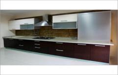 Modern Modular Kitchen by Aakarshan Modular Kitchen & Wood Interiors