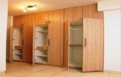 Modular Wooden Wardrobe by R K Interior
