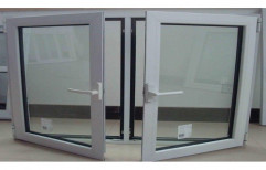 Modern Polished Aluminium Casement Window, For Home,Offices, Size/Dimension: 3 To 4 Feet