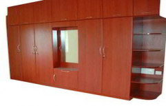 Wooden Modular Wardrobe by Rethin Interior Decorator