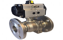 2 Way Electrical Actuator Ball Valve by Hindustan Hydraulics & Pneumatics
